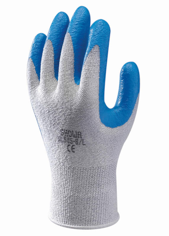 SHOWA 545 HPPE NITRILE PALM FIT