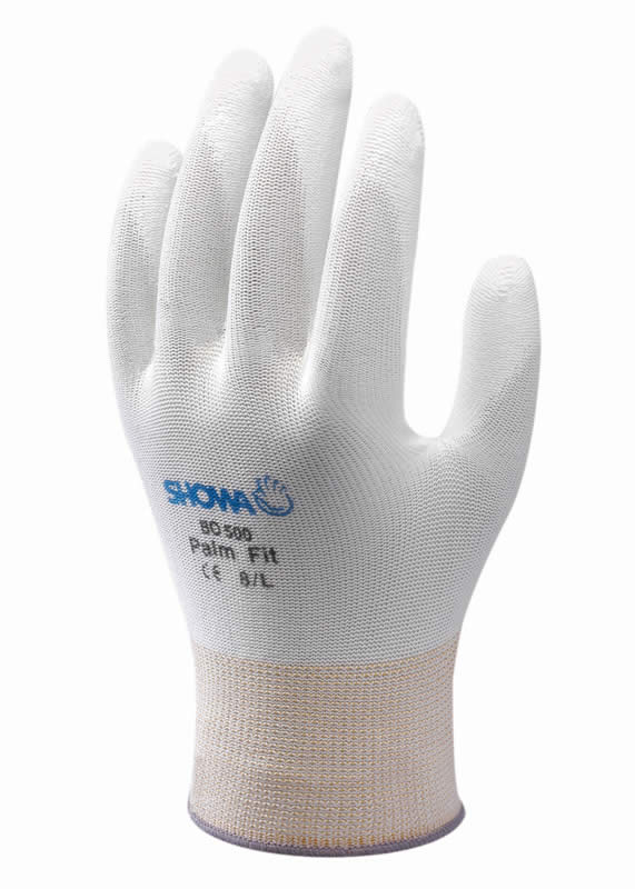SHOWA B0500 PALM FIT WHITE