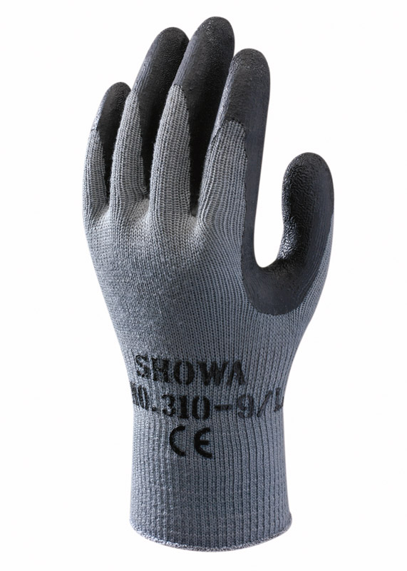 SHOWA 310 GRIP ZWART / BLACK