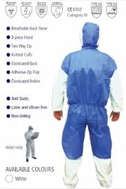 CHEMCOOL COVERALL - Cat 3 Type 5 / 6